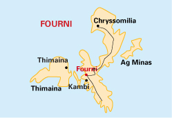 Fourni map