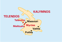Kalymnos Map
